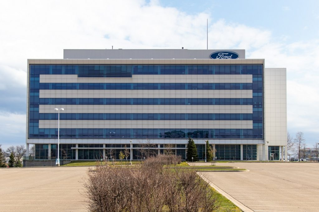 Ford Factory in Canada